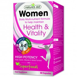 Natures Aid Women'S Multi-Vitamins & Minerals (With Superfoods)