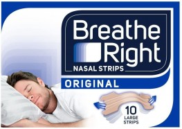 Breathe Right Nasal Strips Natural Large 10s