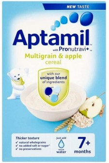 Aptamil Cereals Stage 2 (7+) Multigrain & Apple 200g