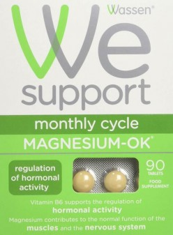Wassen WE Support Monthly Cycle Magnesium OK Tablets 90s