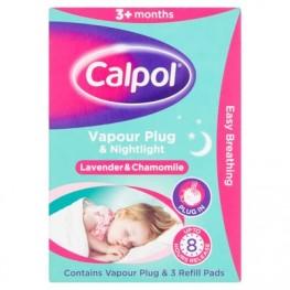 Calpol Soothe & Care Vapour Plug &Amp; Nightlight 3+ Months