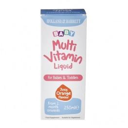 Holland & Barrett Baby Multivitamin Liquid Juicy Orange