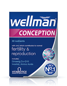 Vitabiotics Wellman Conception