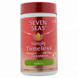 Seven Seas Clo Plus Garlic Capsules