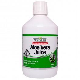 Natures Aid Aloe Vera Juice - Double Strength
