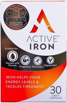 Active Iron 30 Day Iron Supp C 180