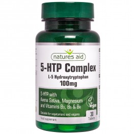 Natures Aid 5-Htp Complex 100mg