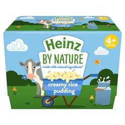 Heinz Creamy Rice Pudding 4pk