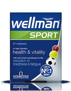 Vitabiotics Wellman Sport