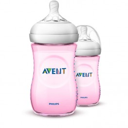 Philips Avent Natural Bottle Pink