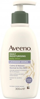 Aveeno Moisturising Lotion Lavender 300ml