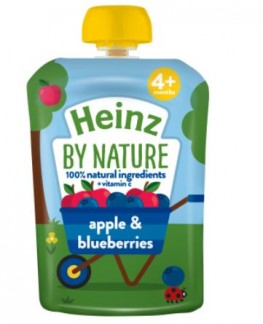 Heinz Apple Blueberry Pouch