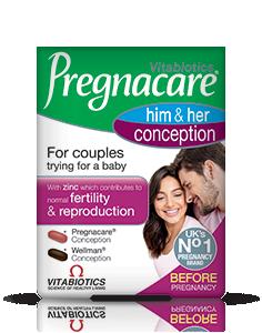 Vitabiotics Pregnacare Conception His & Hers