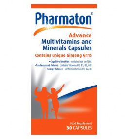 Pharmaton Advance Multivitamins And Minerals 30 Capsules