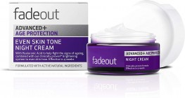 Fade-Out Advanced+ Age Protection Even Skin Tone Night Cream