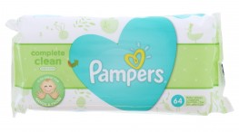 Pampers Wipes Natural Clean Unscented