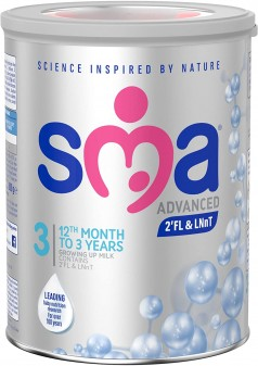 Sma Advanced Growing UP Milk 1-3years Powder 800g