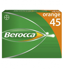 Berocca Eff Tab Orange