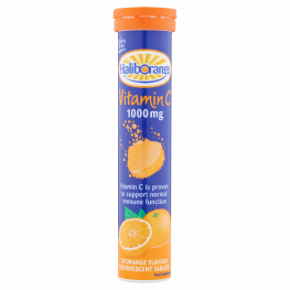 Haliborange Effervescent Vitamin 'C' Orange Flavour Tablets