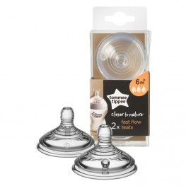 Tommee Tippee Closer TO Nature Teat Fast Flow