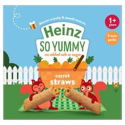 Heinz Carrot Straws 5 X 15g