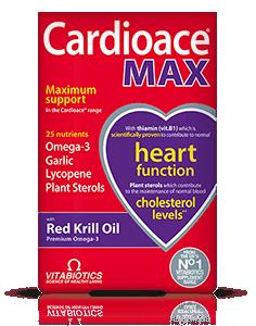 Vitabiotics Cardioace Max Capsules
