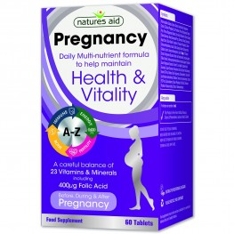 Natures Aid Pregnancy Multi-Vitamins & Minerals (Before, During & After)