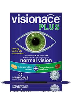 Vitabiotics Visionace Plus28 Tabs/28 Cap Omega- 3