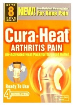 Cura-Heat Arthritis Pain Knee Heatss