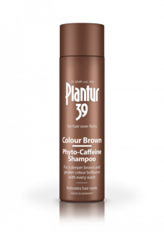 Plantur 39 Colour Brown Phyto-Caffeine Shampoo For Hair Over Forty 250ml