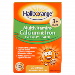 Haliborange Multivitamin Calcium & Iron Tablets 30'S