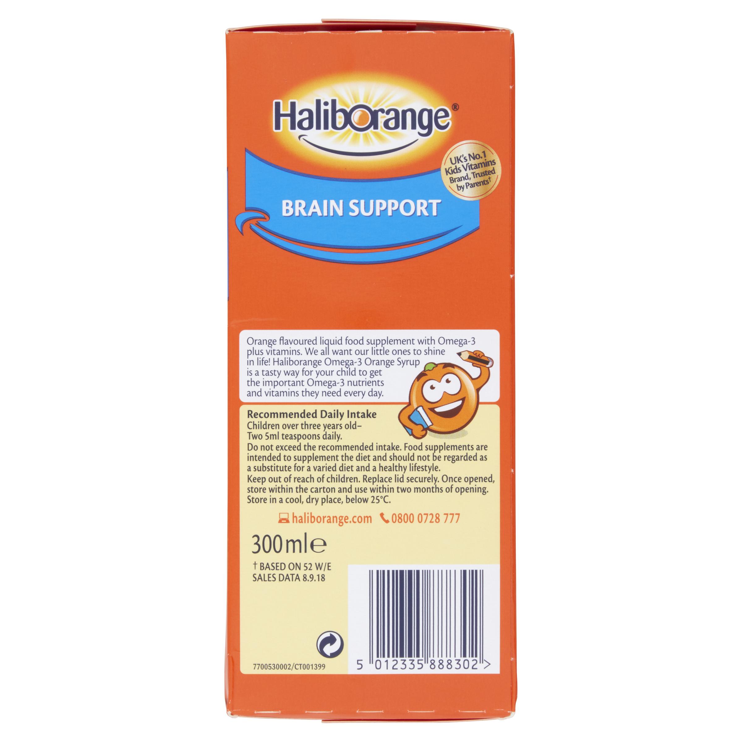 Haliborange Omega 3 Syrup Orange