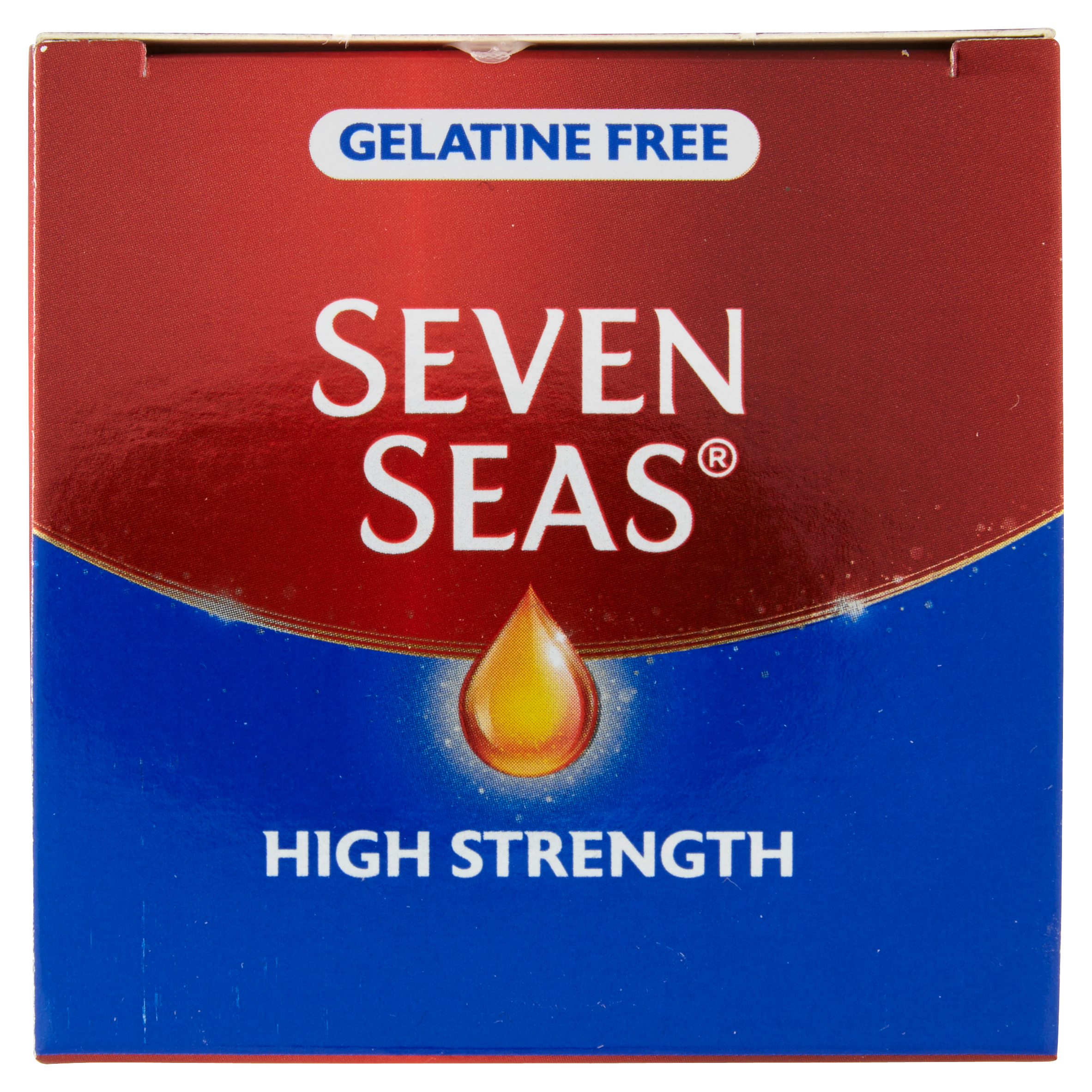Seven Seas High Strength Gelatine Free Capsules