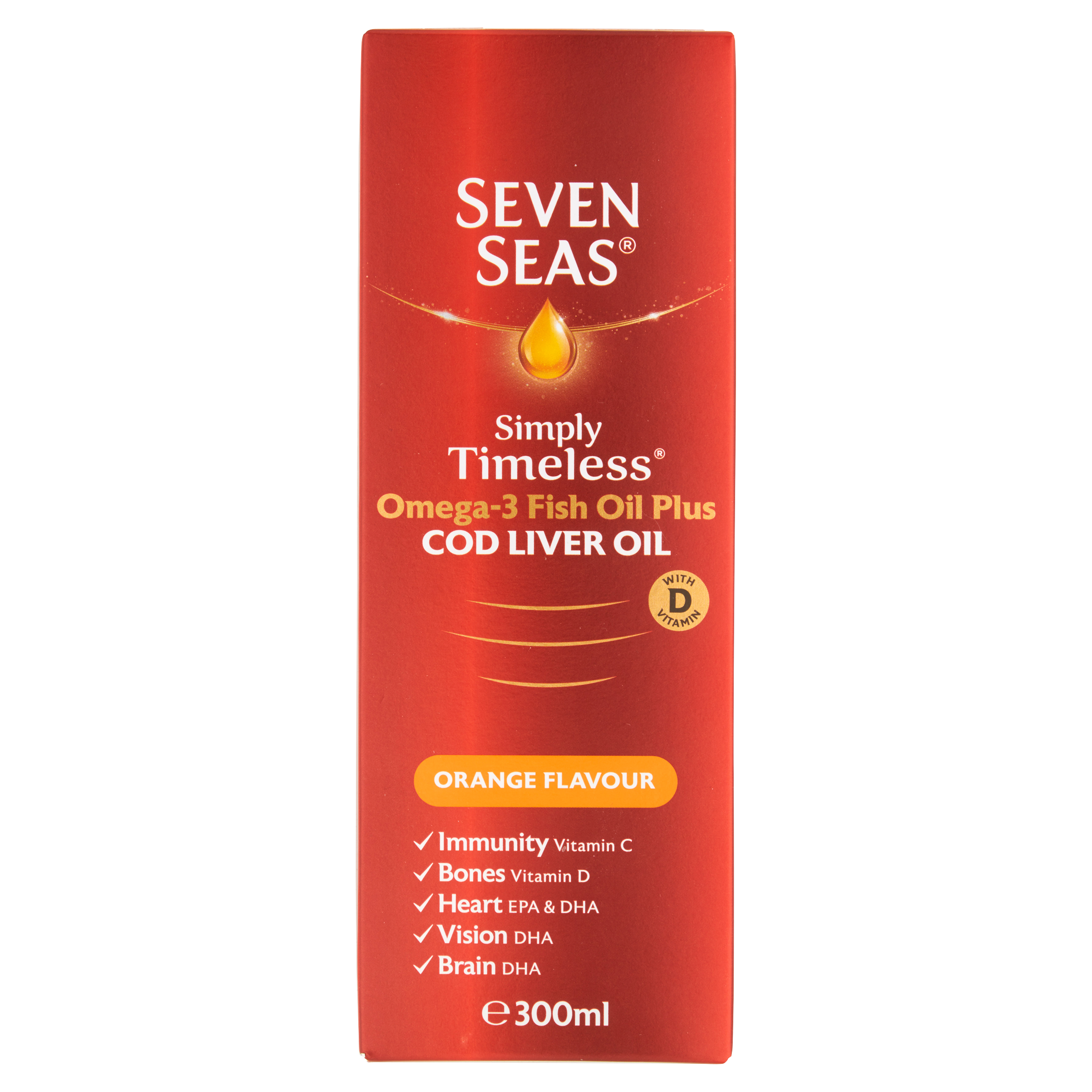 Seven Seas Orange Syrup Liquid
