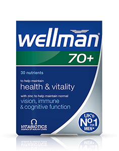 Vitabiotics Wellman 70+30 Tablet