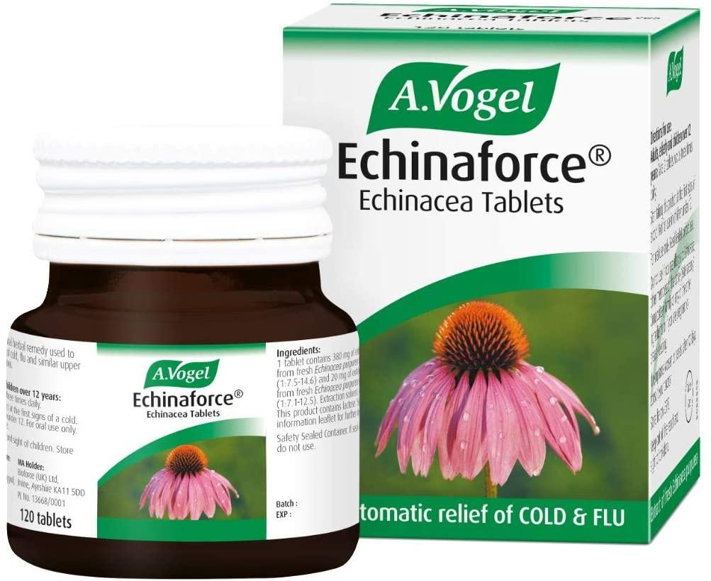 A.vogel Coughs Colds &Amp; Flu Tablets Echinaforce Tincture