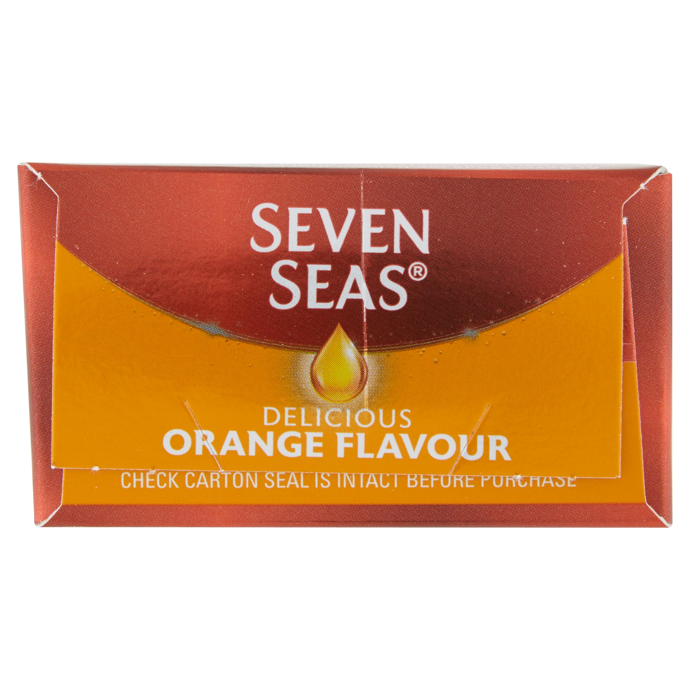 Seven Seas Orange Syrup Liquid